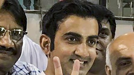 Gautam Gambhir to take a fresh guard