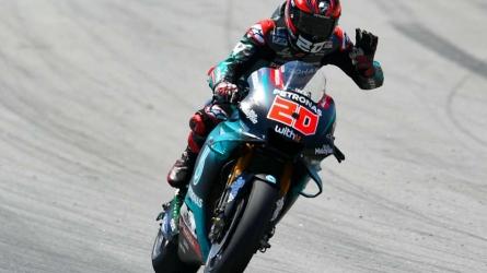 Quartararo claims MotoGP pole