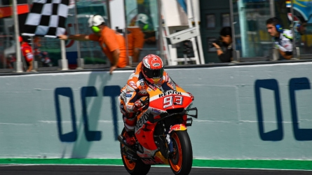 How Marquez won last-lap race in Misano
