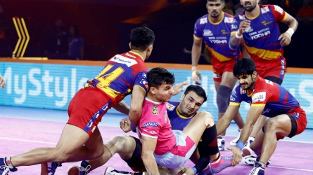 PKL 2019: Five in a row for U.P. Yoddha