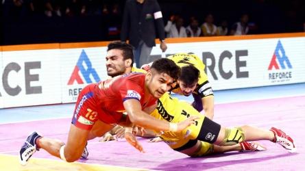 Dabang Delhi beat Telugu Titans