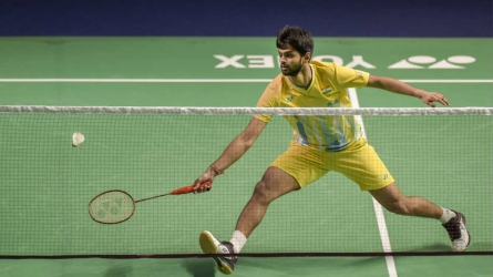 China Open: Sai Praneeth crashes out