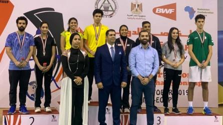 Kuhoo-Dhruv win Egypt mixed doubles