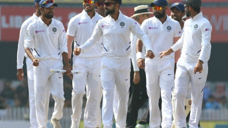 3rd Test: India claim famous win