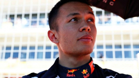 Albon retained by Red Bull