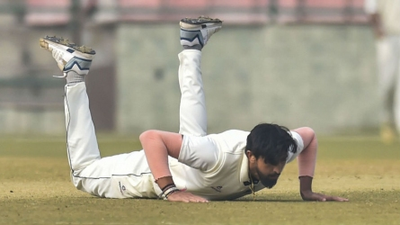 Ishant suffers ankle injury before NZ tour