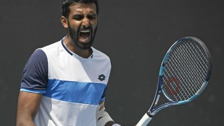 Aus Open: Prajnesh Gunneswaran crashes out