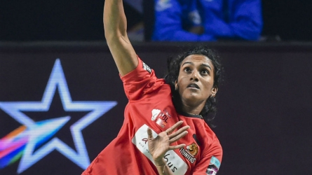 When Sindhu played on in England