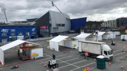 Edgbaston turns COVID-19 testing centre