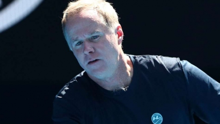 Patrick McEnroe recovers from virus