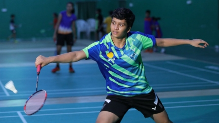Interview with badminton prodigy Tasnim