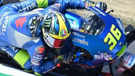 Quartararo talks up Suzuki bike