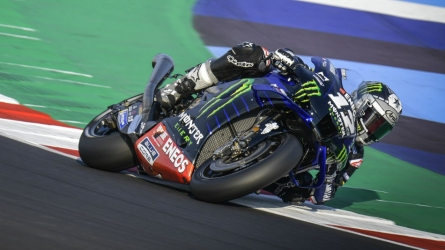 Vinales tops busy Misano test