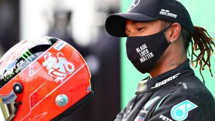 Hamilton v Schumacher in numbers