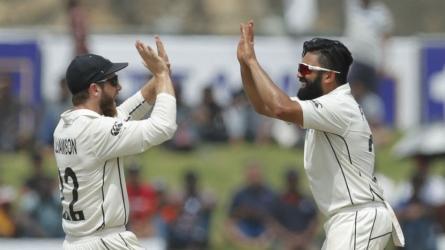 De Grandhomme, Patel out for NZ vs WI