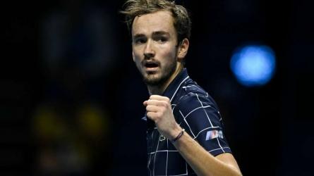 Medvedev wins ATP FInals