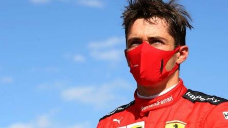Leclerc past Ferrari, COVID-19 woes