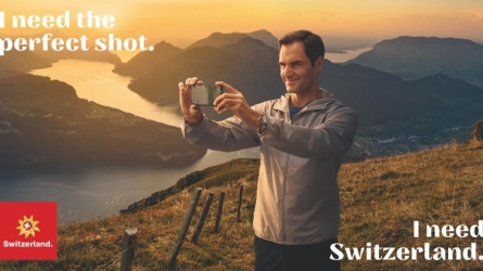 Federer teams up with Swiss tourism