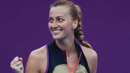 Qatar Open: Kvitova reaches another semi