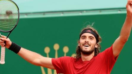 Tsitsipas lands Monte Carlo title