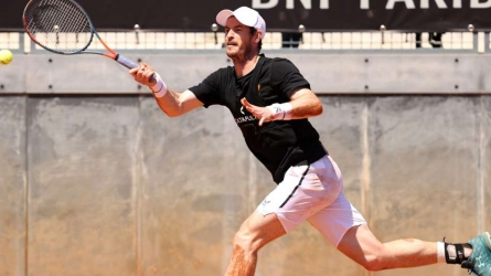 Murray to play Rome doubles