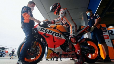 Marquez limited at Jerez test