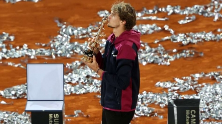 Zverev reigns again in Madrid