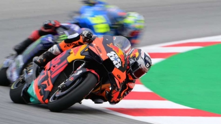 Marquez's Catalan GP ends early
