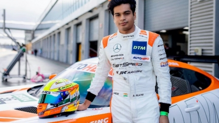 Maini Shows Speed at the Lausitzring