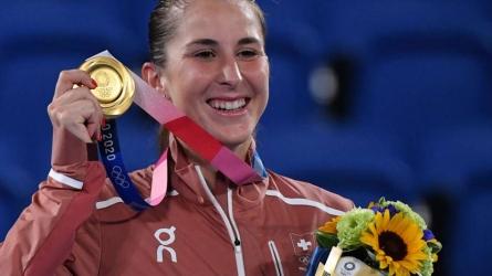 Bencic wins women's singles gold