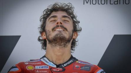Bagnaia leads Ducati 1-2 in Misano