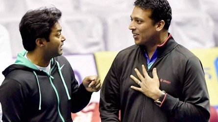 Paes on partnership with Bhupathi
