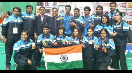 South Asian Games: Siril Verma, Ashmita Chaliha lead India to 6 badminton gold medals; Indians finish with 10 medals