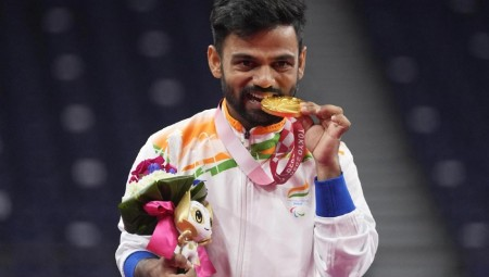 Tokyo Paralympics: 'Just want to live in this moment,' says gold medallist shuttler Krishna Nagar