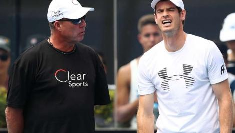 Murray splits with coach Lendl again