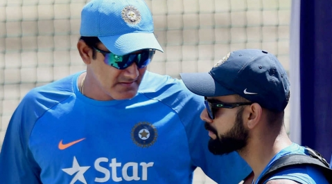 Headmaster tag came back to me in my career: Anil Kumble