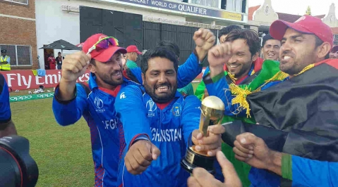 Afghanistan seal World Cup berth