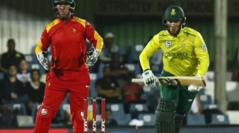 Tahir tops the charts as Proteas see off Zimbabwe
