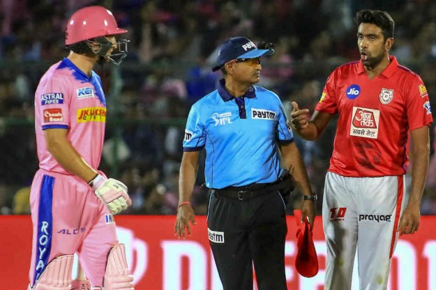 Ashwin says he will 'Mankad' batsmen going out of the crease in IPL 2020