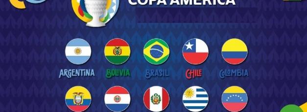 Copa America 2021 Full Squad of 10 teams