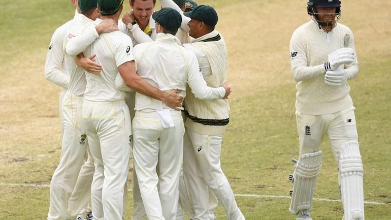 Australia towel England to regain the Ashes