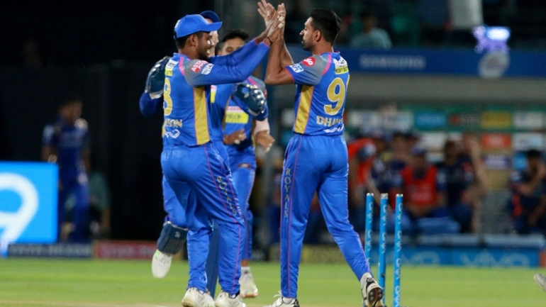 IPL 2018: RR Vs MI: Live Updates: Pacers script a comeback to restrict Mumbai to 167/7