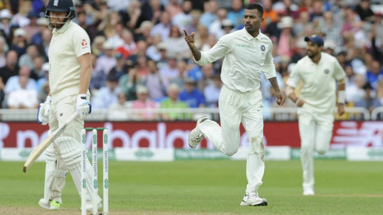 India v England, 3rd Test, Day 2: Pandya five-for pushes India to total dominance